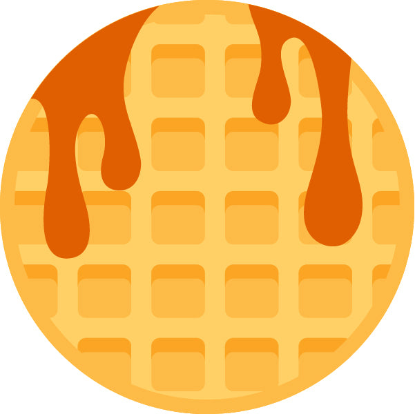 Hank Darby Co. Patch Design: Waffles