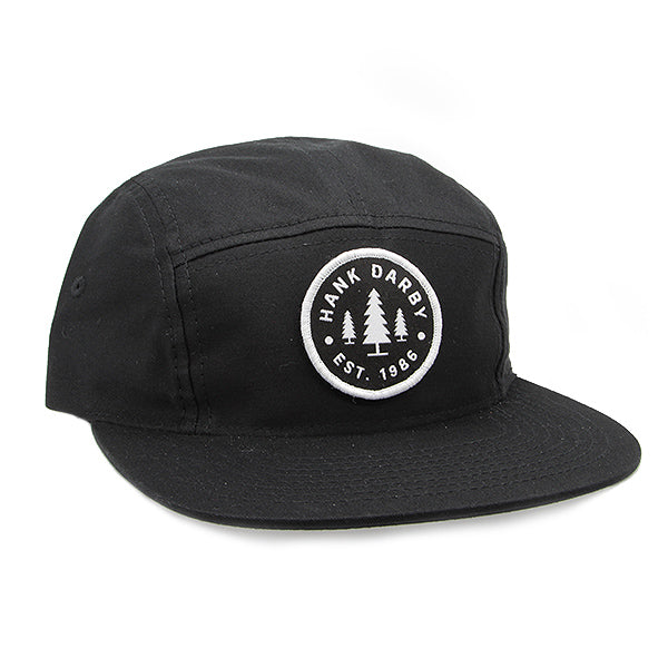 1986 Camper Hat Black