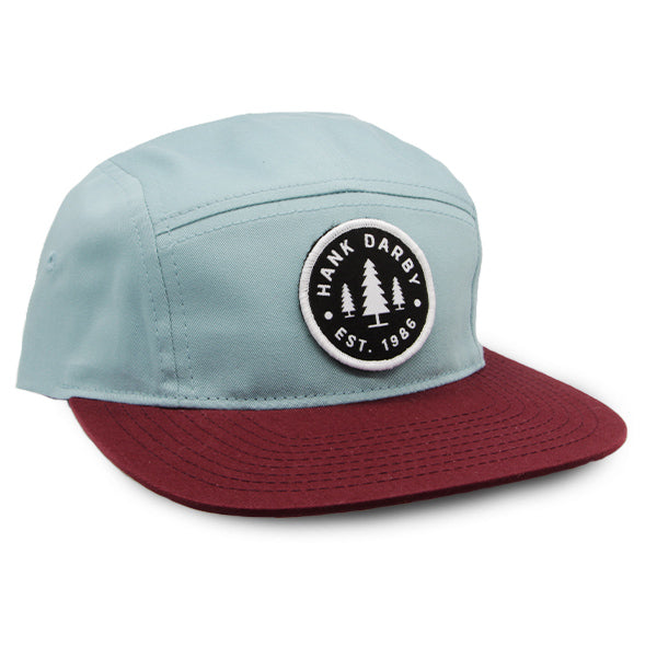 1986 Camper Hat Smoke Blue/Maroon