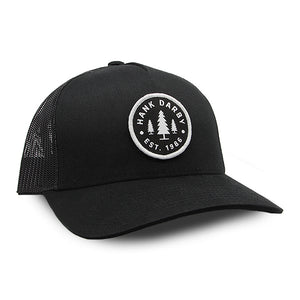 1986 Retro Trucker Black