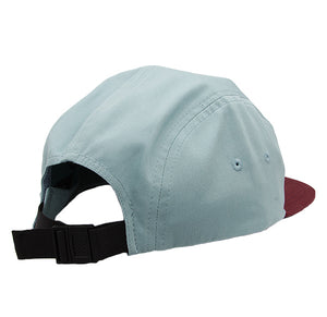Camper Hat Smoke-Blue/Maroon-Back