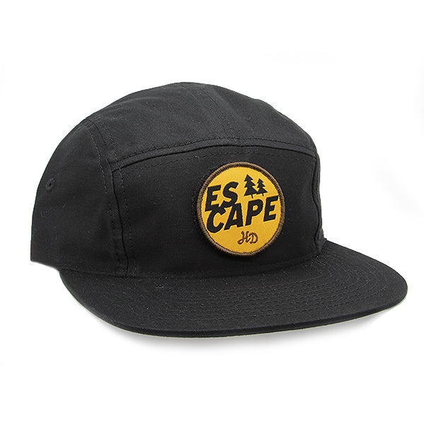 Escape Camper Hat Black