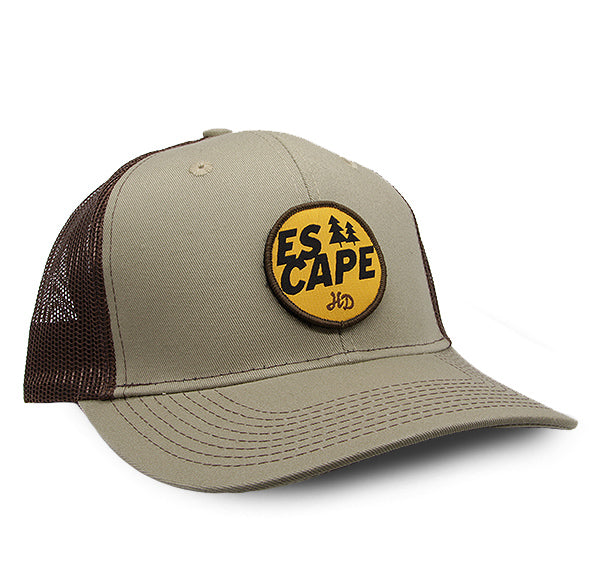Escape Two Tone Tommy Khaki/Coffee