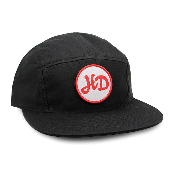 HD Camper Hat Black