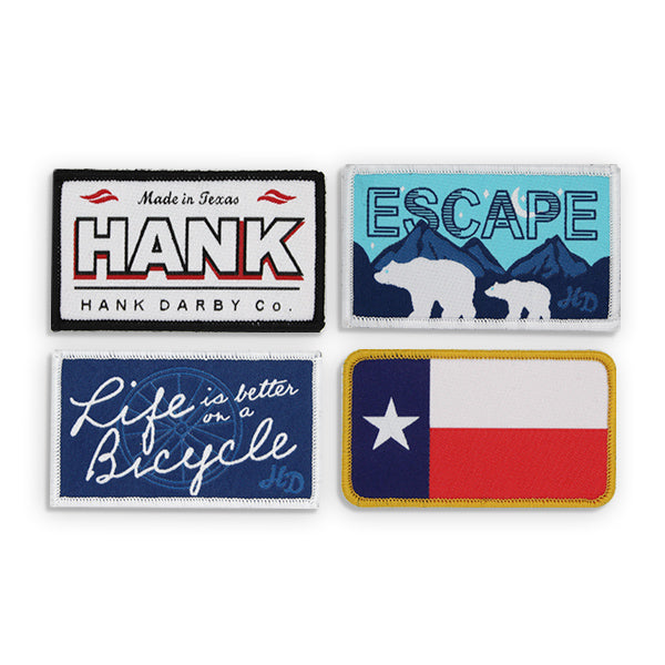 All Rectangle Patches (Set of 4)