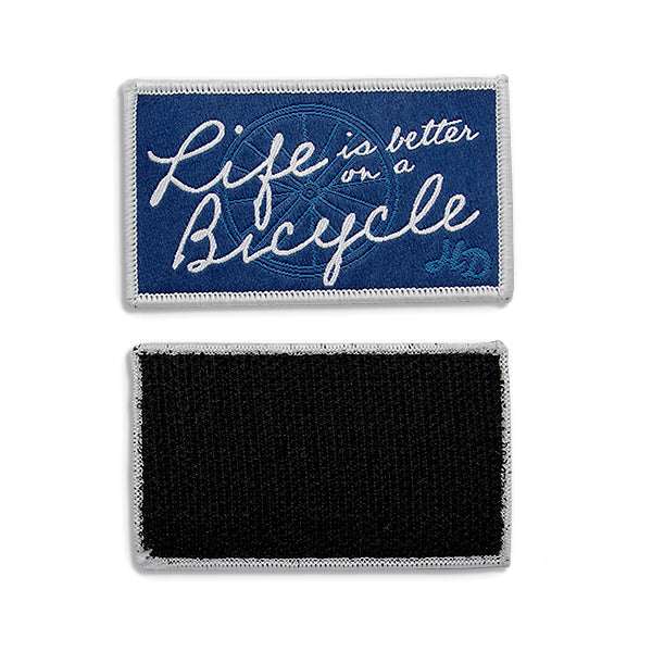 HD Bicycle Rectangle Patch