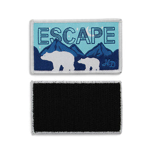 HD Escape Rectangle Patch - Polar Bears