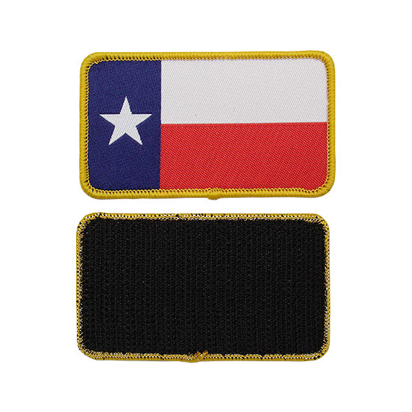 HD Texas Rectangle Patch