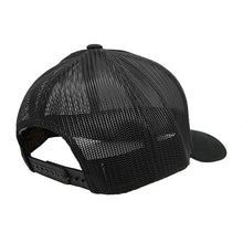 Load image into Gallery viewer, Retro Trucker Black-Back