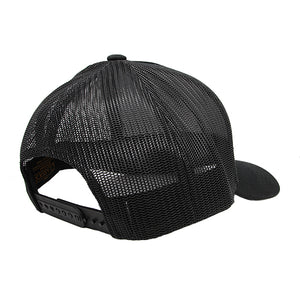 Retro Trucker Black-Back