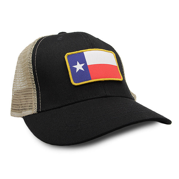 TX Mother Trucker Black/Khaki