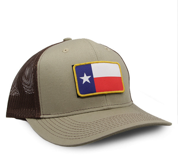 TX Two-Tone Tommy Khaki/Coffee