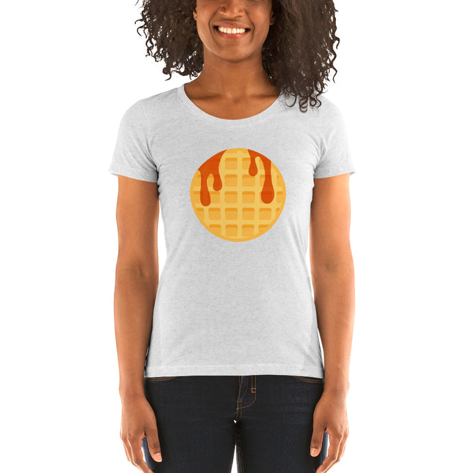 Ladies' Waffle short sleeve t-shirt