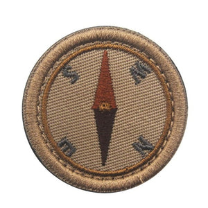 Asshole Merit Badge Patch - Compass