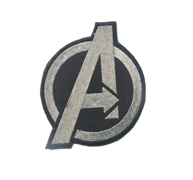 Tactical Morale Embroidery Patches - Avengers - Silver