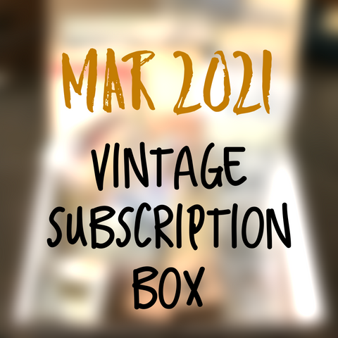 March 2021 stationery box - Vintage non-holiday themed - YourCreativeStudio