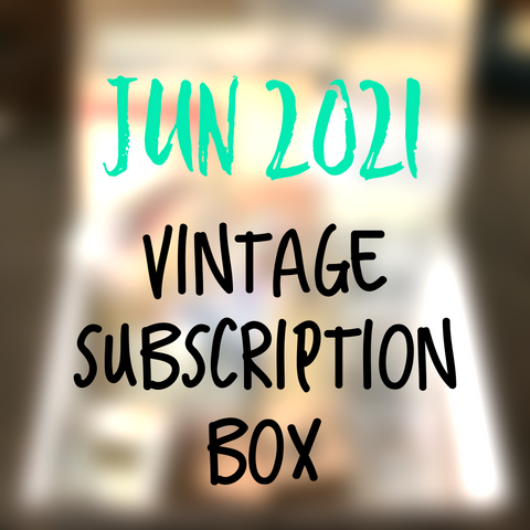 June 2021 stationery box - Vintage non-holiday themed - YourCreativeStudio
