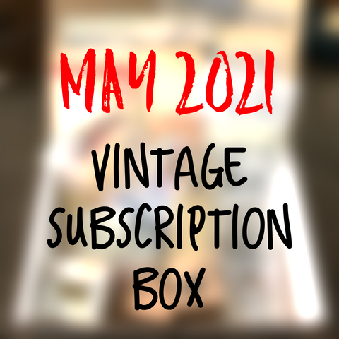 May 2021 stationery box - Vintage non-holiday themed