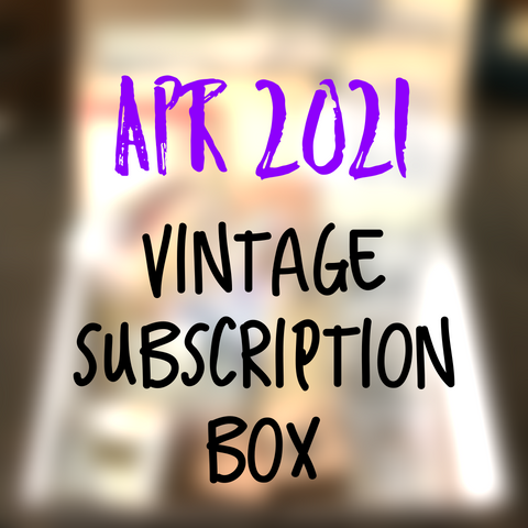 April 2021 stationery box - Vintage non-holiday themed - YourCreativeStudio