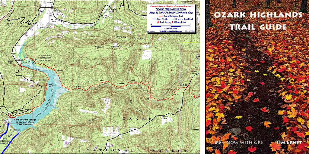 Ozark Mountains Topographic Map.Ozark Highlands Trail Hike A Ten Day Thru Hike Journey Fayettechill
