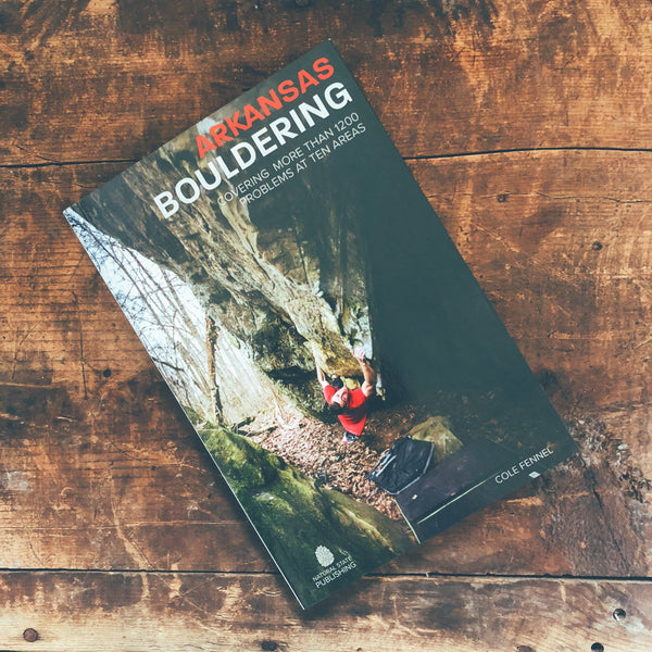 Arkansas Bouldering Book