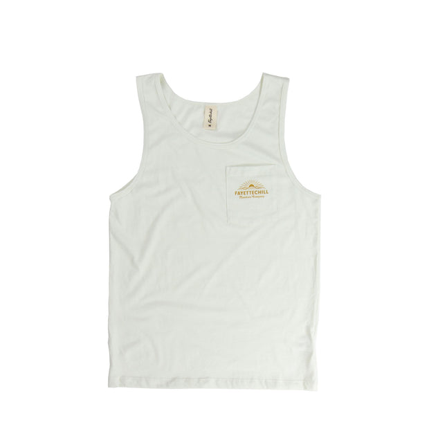 Outland Unisex Tank Top - SS19 FAY Winter White XS