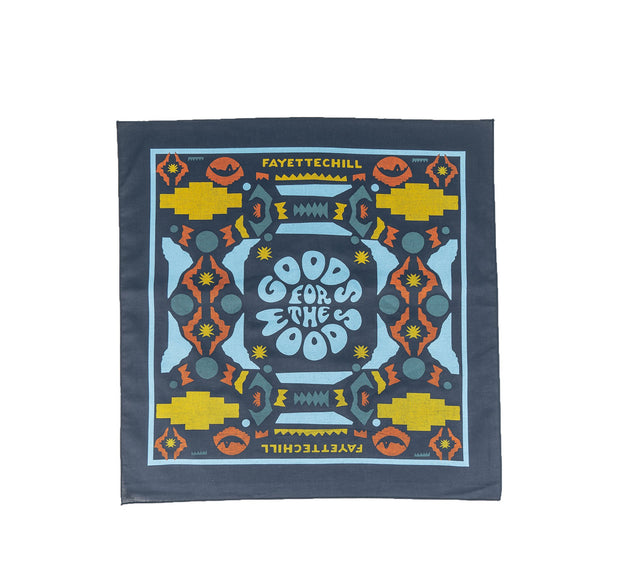 Goods for the Woods Bandana Accessories FAY Blue OS