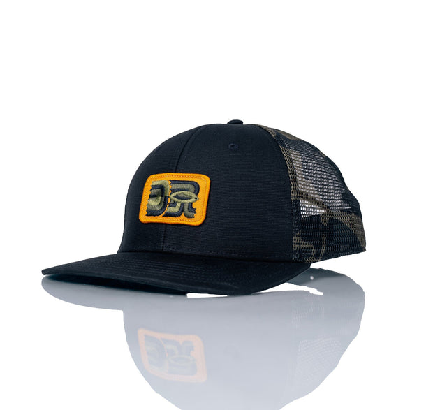 Cast Trucker Men's Headwear FAY Black/Camo OS