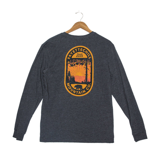 Backcountry Unisex Long Sleeve T-Shirt - FW18 FAY Black Heather XS