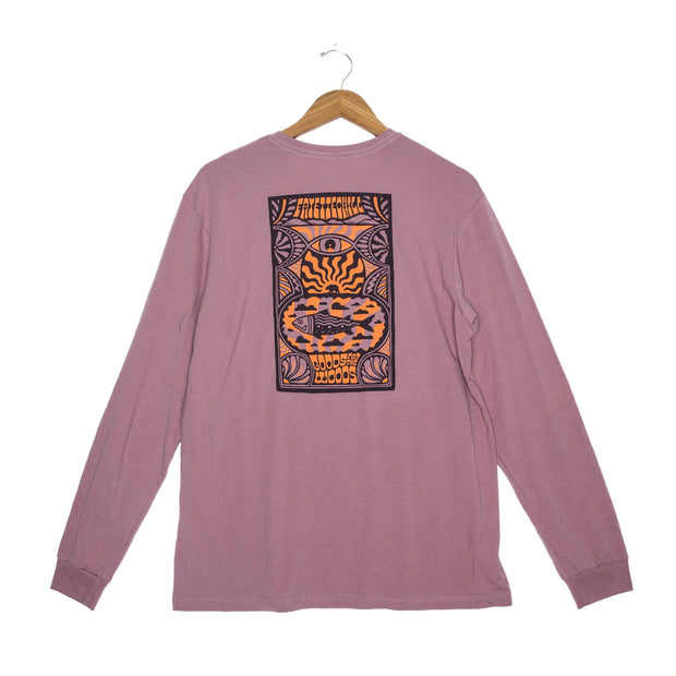 Day Tripp Unisex Long Sleeve T-Shirt - FW18 FAY Wistful Mauve XS