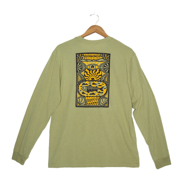Day Tripp Unisex Long Sleeve T-Shirt - FW18 FAY Cedar XS