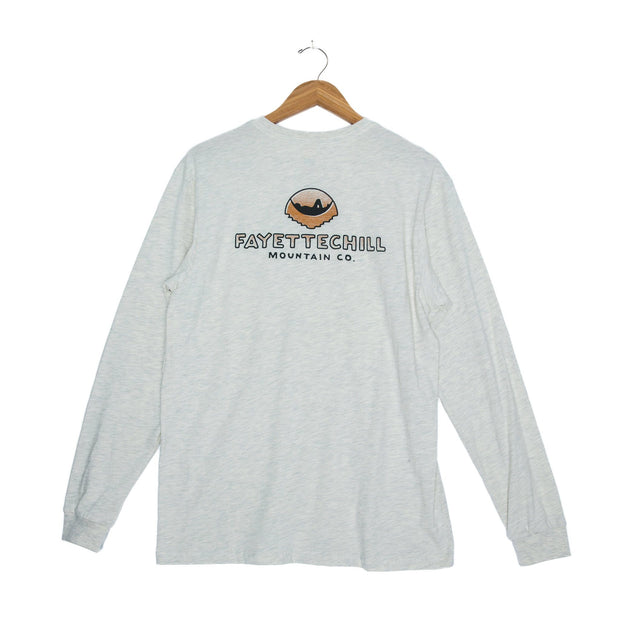 Sunset Hammock Unisex Long Sleeve T-Shirt - FW18 FAY Ash Heather XS