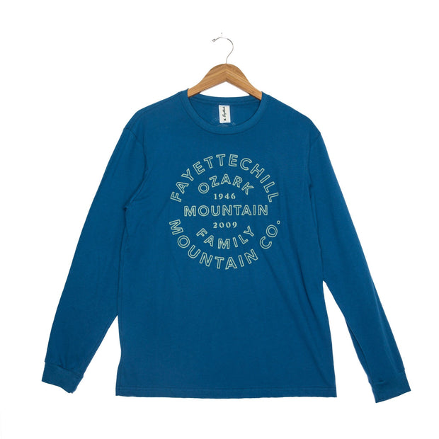 Heritage Unisex Long Sleeve T-Shirt - FW18 FAY Glass Blue XS