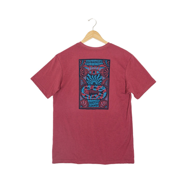 Day Tripp Unisex T-Shirt - FW18 FAY Adzuki Red XS