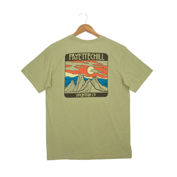 Bryn Mountains Unisex T-Shirt - FW18 FAY Cedar XS