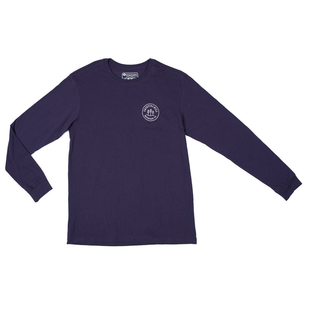 Alpine LS Unisex Long Sleeve T-Shirt Fayettechill Clothing Company