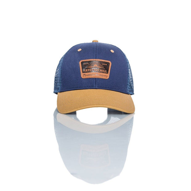Landmark Men's Headwear - SS19 FAY Navy/Brown OS
