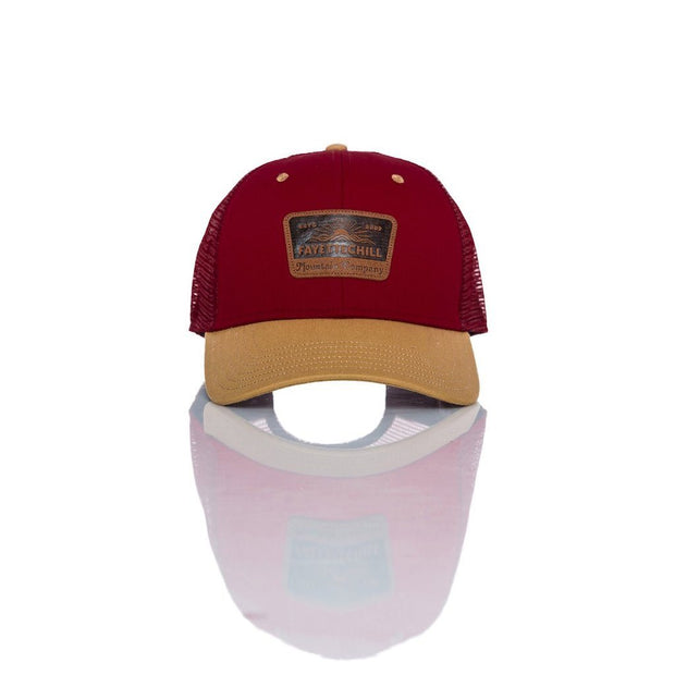 Landmark Men's Headwear - SS19 FAY Garnet/Brown OS