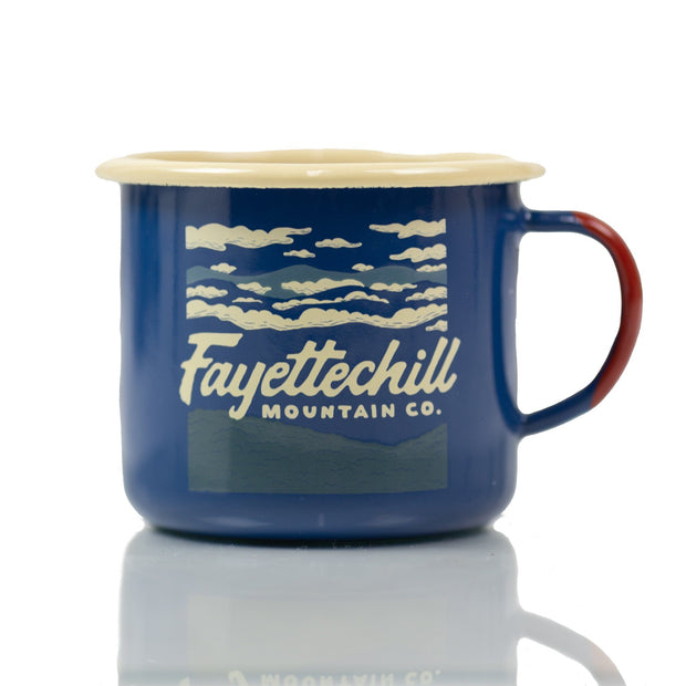 HWY 45 Mug Cups/Water Bottle/etc. FAY Blue OS