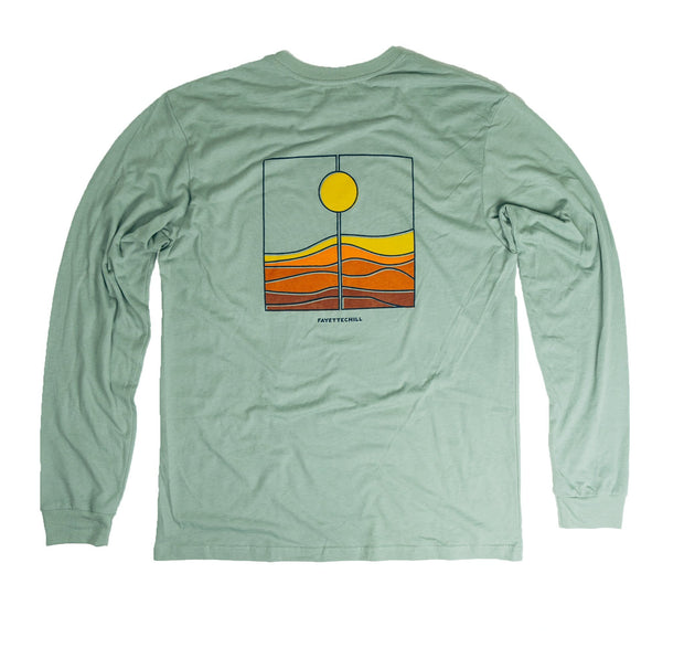 Harvest Unisex Long Sleeve T-Shirt FAY Verdigris XS