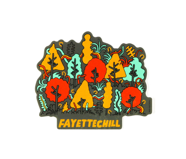 Electric Forest Sticker Accessories FAY Variable Sticker OS