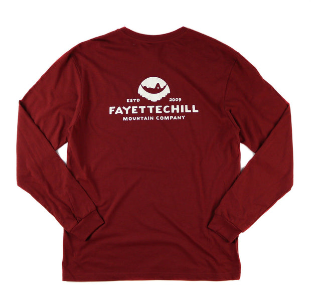 Ten Year Unisex Long Sleeve T-Shirt FAY Drumfire Red XS