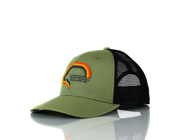 Tiller Bear Men's Headwear FAY Olive OS