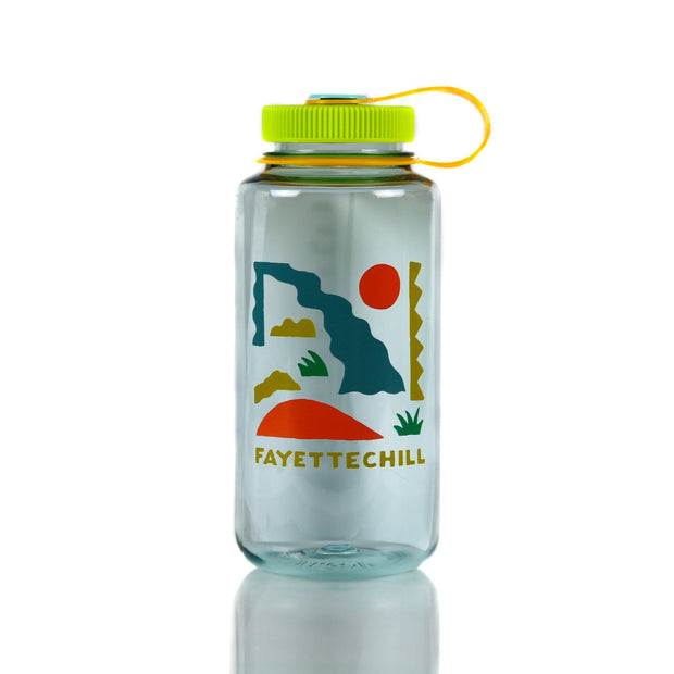 Nalgene Abstract Wide Mouth 32oz Sea foam
