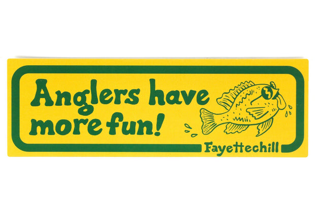 Angler Enthusiast Sticker