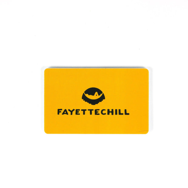 Gift Card Gift Card Fayettechill