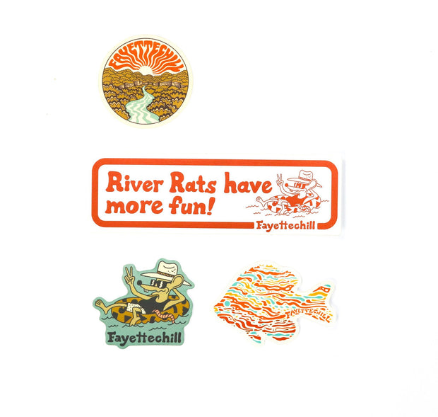 River Sticker Pack