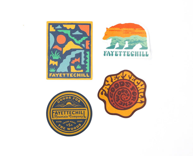Spring Summer Sticker Pack FAY