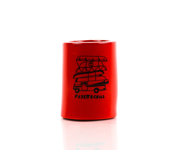 River Rat Koozie Accessories FAY Red OS