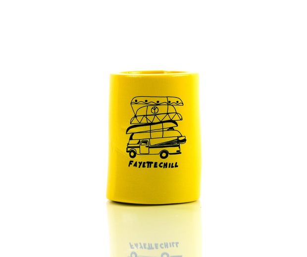 River Rat Koozie Accessories FAY Yellow OS